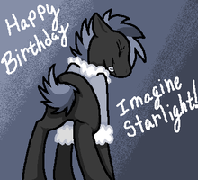 Happy [belated] Birthday ImagineStarlight by King-Icarus