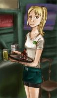 Sookie, Waitress And Telepath by lovejam