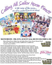 Moonie Events at Matsuricon 2015 by lilly-peacecraft
