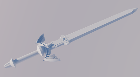 Twilight Princess Master Sword Commission by ronime