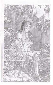 Clover card pencils #1 by UltimateInker