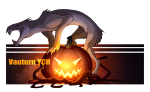 Vauturn Halloween YCH - OPEN by EVR4H