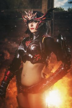 Draconic armor from Lineage II by Atai