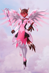 Pink Mercy by Dannyckoo