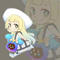 Pokemon Sun/Moon - Lillie ( Chibi ) by K-K-tofus