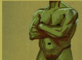 Life Drawing - Controlled Sculpt by Juandfr