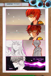 Mystic Messenger - Space by larienne