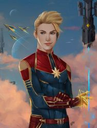 Captain Marvel by SaifuddinDayana
