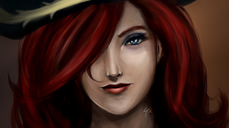 Miss Fortune - A brief portrait by saystark