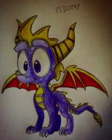 Spyro the Dragon by TravistheDragon00