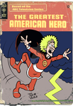 The Greatest American Hero Fake Comic Book Cover by Tulio-Vilela