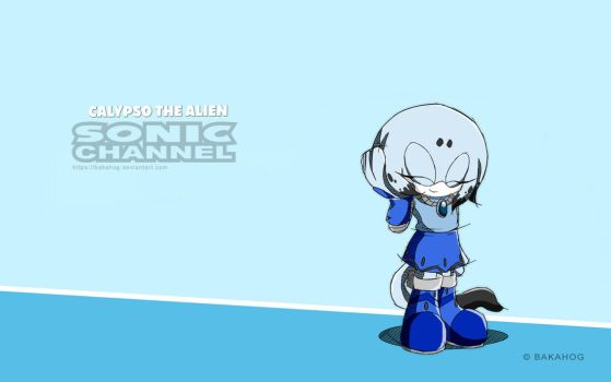 Sonic Channel - Calypso The Alien by Bakahog