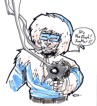DSC 2014-10-03  Captain Cold by theEyZmaster