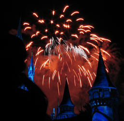 Castle Fireworks Show IMG 1076 by TheStockWarehouse