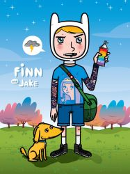 Finn And Jake by Jeyjie