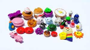 Polymer Clay Charms 6-9-13 by QueenNekoyasha