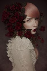 Red Roses - III by KimJSinclair