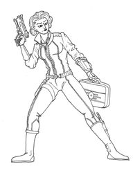 Fallout Gal by AzonBobcat