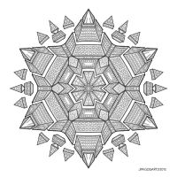Mandala drawing 51 by Mandala-Jim