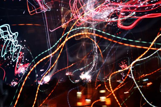 2013 Fireworks /w Ultra Long Exposure Time by g3xter