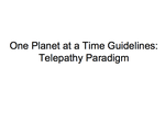 OPaaT Guidelines:  Telepathy Paradigm by space-commander