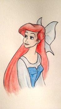 Ariel - The little mermaid by mliddam