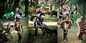 Lady Rathalos 2 by AndreaOfTheLand