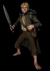 Samwise Gamgee 3D model by Louis-Lux