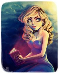 Magic Book by AliciaDeAndres