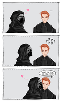 If Kylo kissed Hux by Pos23