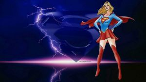 Supergirl Lightning 1 by Curtdawg53