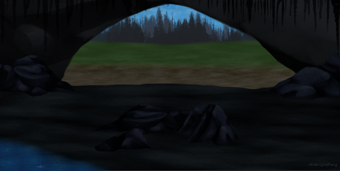 Cave Entrance by xNightxx