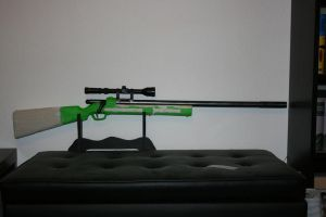 WIP: BuzzBee RSCB Hunter/Bolt-Action Rifle 2 by hoellenhamster