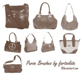Purse Brushes by fartoolate