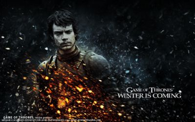 Theon Greyjoy - Game of Thrones by belief2
