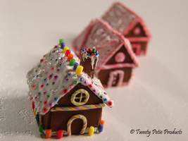2011 Gingerbread House Models by birdielover