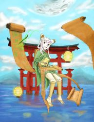 F:art- Tamiyo by A-Fistful-Of-Kittens