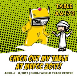 Middle East Film and Comic Con 2017 by xuae