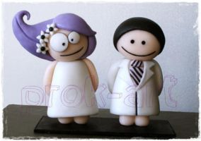 crazy wedding by prok-art