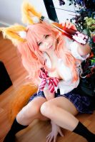 Koyuki as Tamamo no Mae by Nlghtmal2e