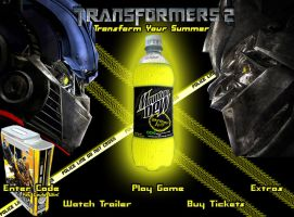 Transformers 2 MD Website by Arcane-Toaster
