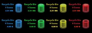 Colored Recycle Bin by mic-86