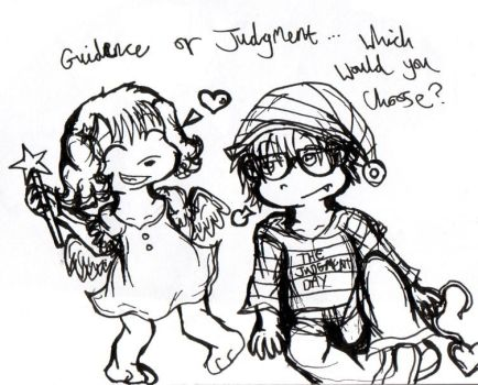 Guidence or Judgement? by Becca--Lou