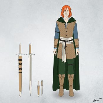 Grischa's Clothing and Weapons by karchew