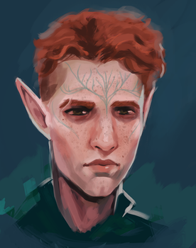 Inquisitor Lavellan by Fischmeister