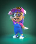 Arale Norimaki by MaryShan