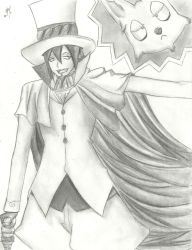 Mephisto Pheles And Dog Form by 1Finale95
