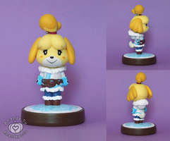 Isabelle Mei Outfit Custom Amiibo by Amandkyo-Su