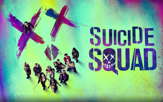 Suicide Squad website wallpaper by vndesign