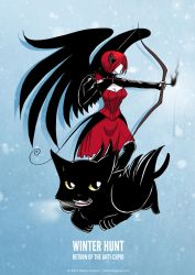 The Anti-Cupid: Winter Hunt by rachelthegreat